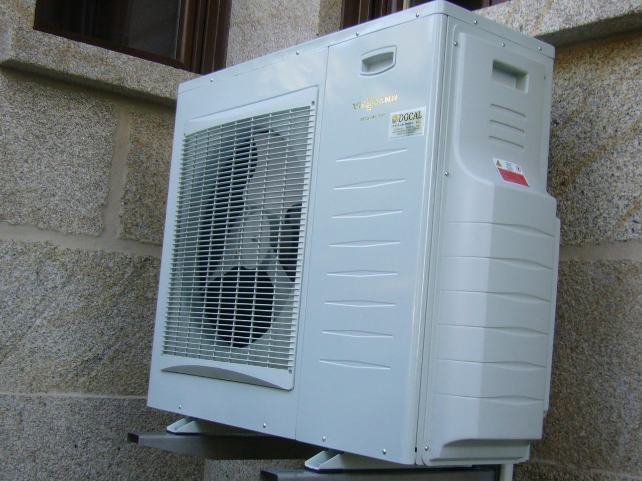 Docal instalaciones portfolio categories aerotermia - Bomba de calor de alta eficiencia energetica para calefaccion ...